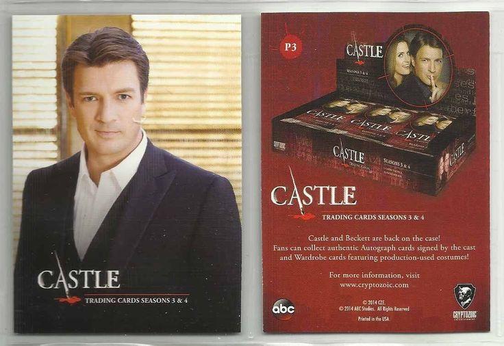 2014 Castle: Seasons 3 & 4 Promo Card NON-SPORT UPDATE #P3