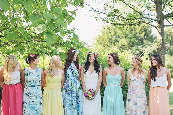 112 besten Bridesmaids Bilder auf Pinterest   Brautjungfern, Farbe ...