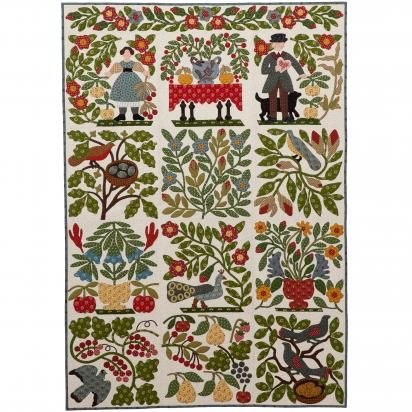 Vote thru 12/15 for Morton Masterpiece. This quilt is The Courting Quilt made by Karen Martin