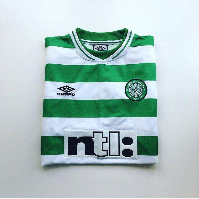 Just in: Celtic home shirt 1999/01 - link in bio ☝️ #Celtic #Celticfc #thehoops #celticshirt #glasgow #glasgowceltic #spl #spfl #scotland #scottishfootball #football #footballshirt #umbro #retro #retroshirt #retrofootball #vintage #vintageumbro #vintagefootball #vintagefootballshirt #classickit #classicfootball #soccer #soccerplayer #90s #90svintage #90sfootball