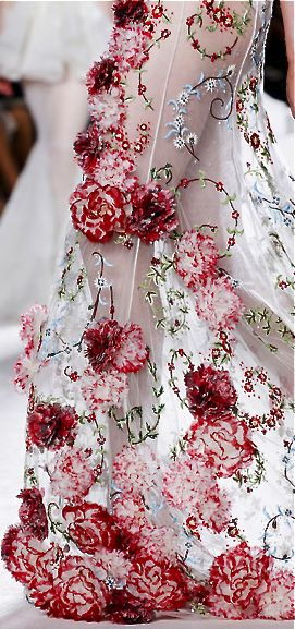 Giambattista Valli Embroidery Details
