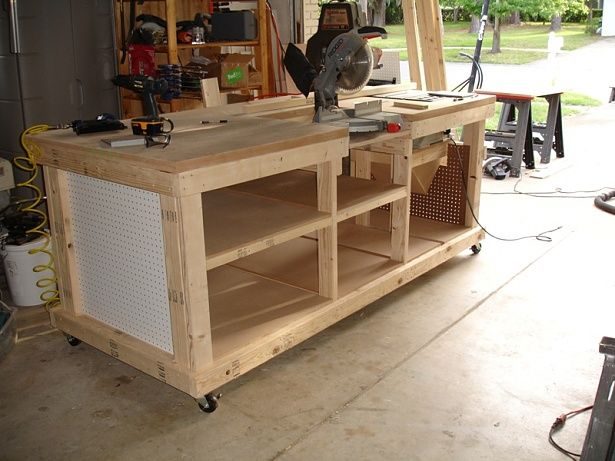 Mobile Workbenches For Garages : Workbench ideas ultimate tool stand page