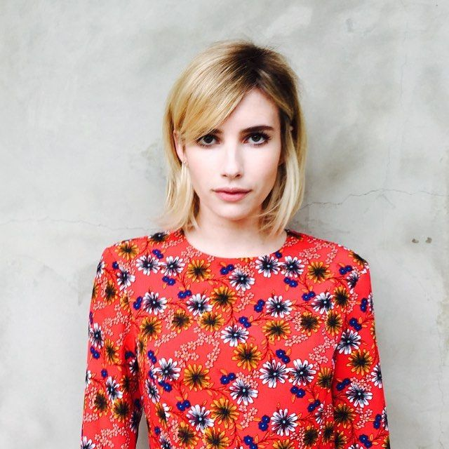 "All the Hair Colors Emma Roberts Has Had Over the Years: Emma Roberts changed up her hair color once again, this time going from red to ""smokey quartz"". -- Blonde with dark roots  