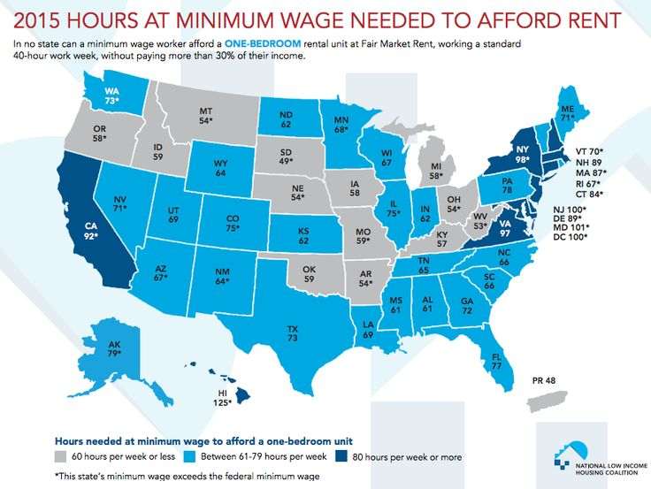 1 Map Shows How Many Hours You Need To Work Minimum Wage To Rent An Apartment