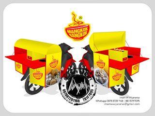 Desain Gerobak Motor Baso | Jasa Desain Logo Kuliner | Desain Logo | Desain Gerobak Unik | call 0878-8728-1168 | pin : 7D1F7D95: Desain Logo Kuliner