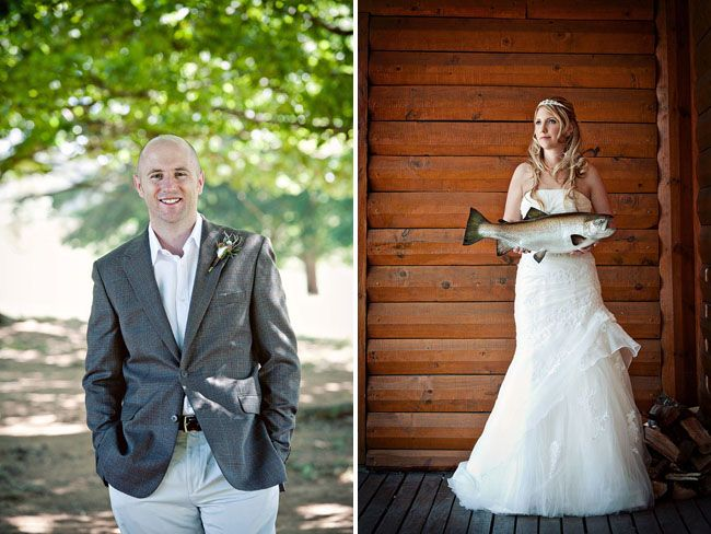 A South African Fly Fishing Wedding in the Mountains: Monique + Craig