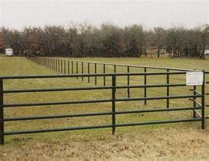 I love black pipe fencing for pastures.  You can use all pipe on the side where folks may want to look at the livestock and then pipe and cable to keep the cost down on the other sides