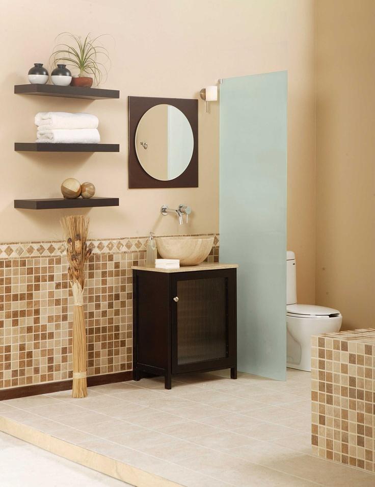 Juega y combina cada elemento de tu baño.