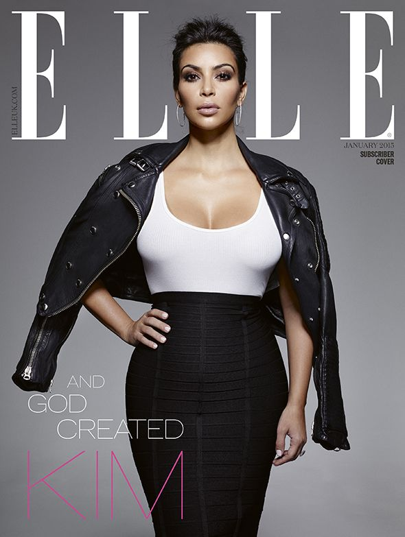 Pre Order: Kim Kardashian West's ELLE UK Cover | Fashion, Trends, Beauty Tips & Celebrity Style Magazine | ELLE UK