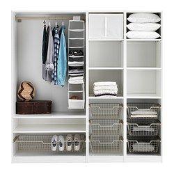 Pax armario con accesorios interior bisagra de cierre - Accesorios armarios ikea ...