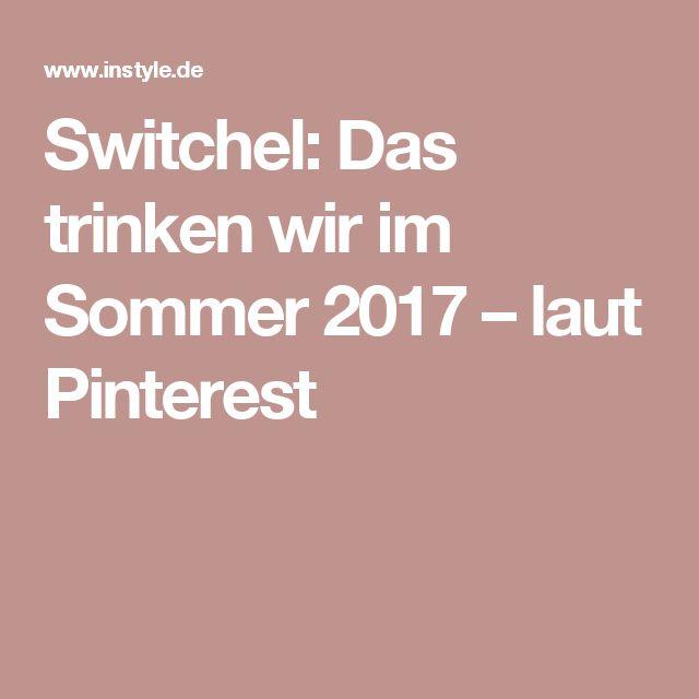 Switchel: Das trinken wir im Sommer 2017 – laut Pinterest