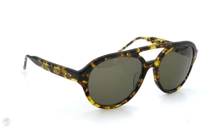 THOM BROWNE. eyewear archive TB-301-B-T-BLK-54