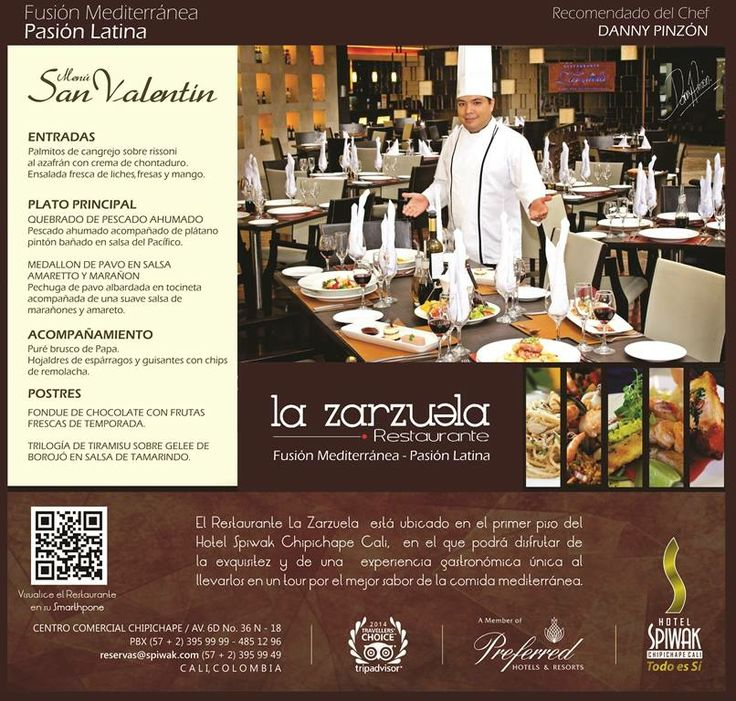 >Restaurante la Zarzuela en San Valentin