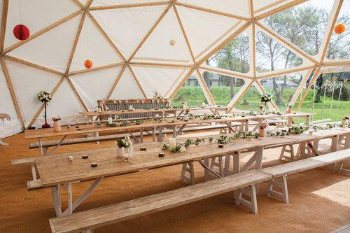 geo dome party venue hire