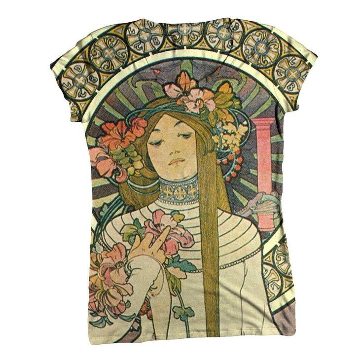 """""""Art Nouveau 006"""" shirt"""