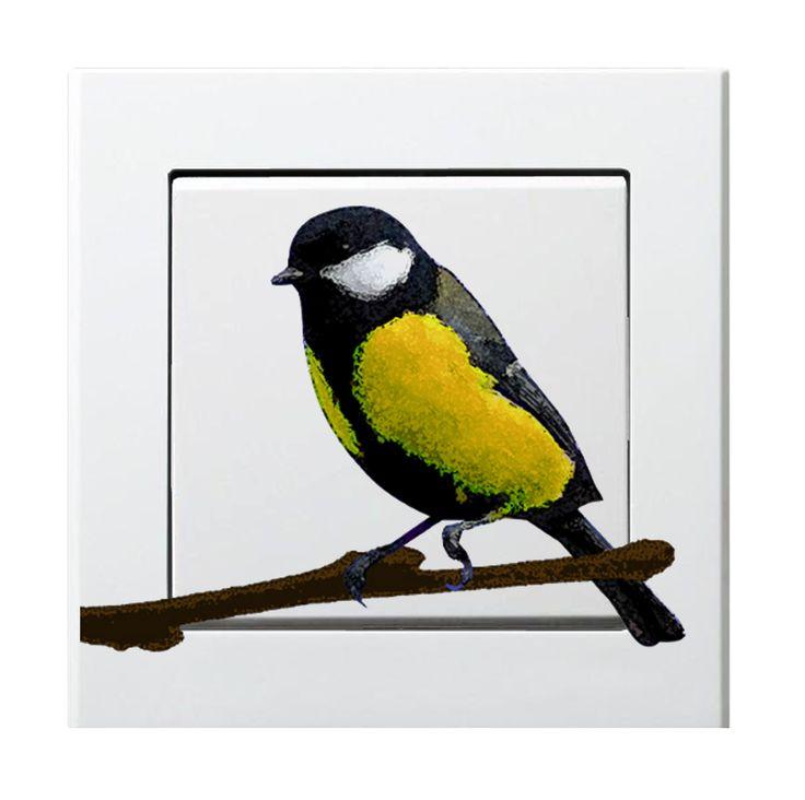 titmouse - yellow