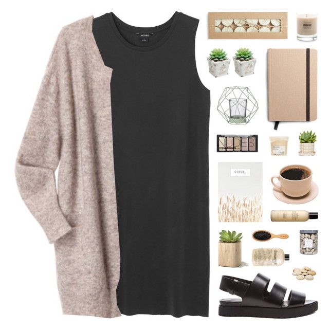 """~ 111315"" by khieug ❤ liked on Polyvore featuring Monki, Acne Studios, Alexander Wang, Threshold, Bloomingville, Davines, Baxter of California, Shinola, John Masters Organics and H&M"