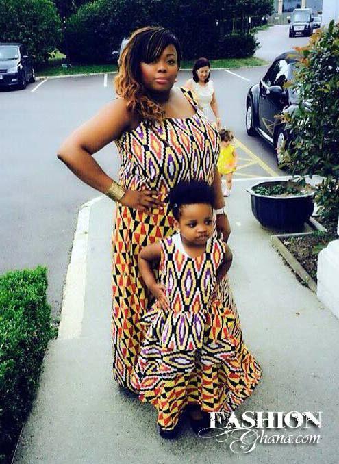 Fashion Ghana Magazine | Mother daughter fashion