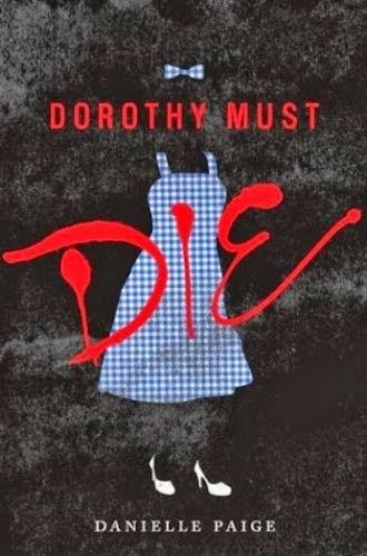 oz + hunger games = Dorthy Must Die. fairly certain this book is moving up the list. hey @Kate M. can i talk you into reading this with me? i feel like a young adult book is probably the right level for our club.