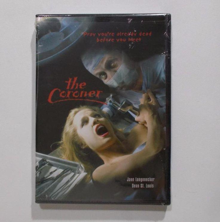 The Coroner DVD Cult Horror Slasher Movie Dean St Louis Juan Mas 2000