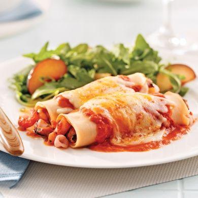 Cannellonis aux fruits de mer - Soupers de semaine - Recettes 5-15 - Recettes express 5/15 - Pratico Pratique