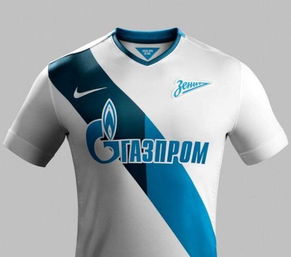 FC Zenit Nike Away Shirts 14/15