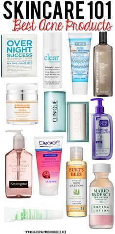 The Best Acne Products | Take care of your skin and keep away from acne with these products. #youresopretty