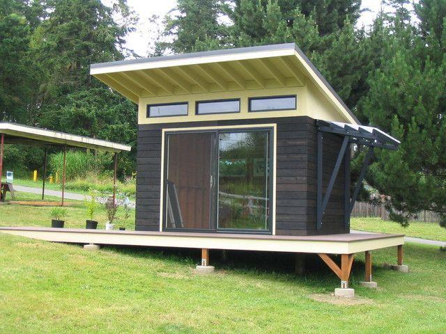 27 best Tiny House images on Pinterest Backyard office Backyard