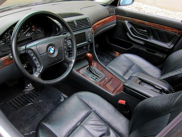 1999 bmw 740il interior