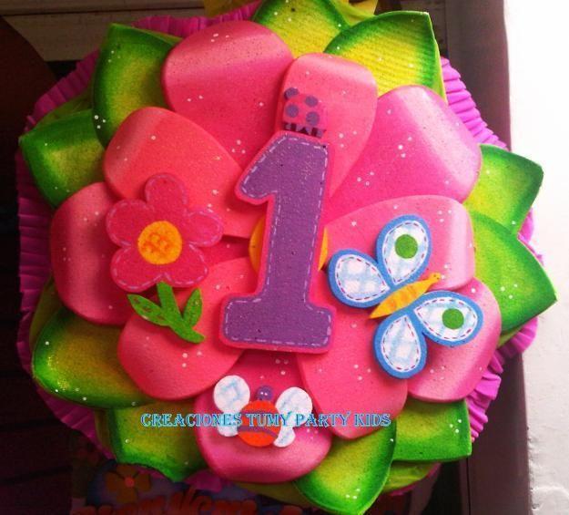 piñata de flor