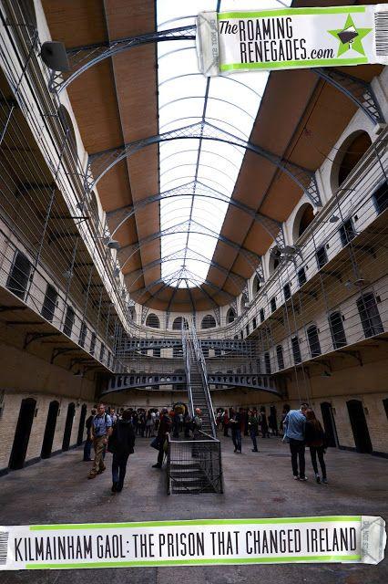 Kilmainham Gaol - The place the Irish Republic began!> http://www.theroamingrenegades.com/2016/02/kilmainham-gaol-where-irish-republic-began.html