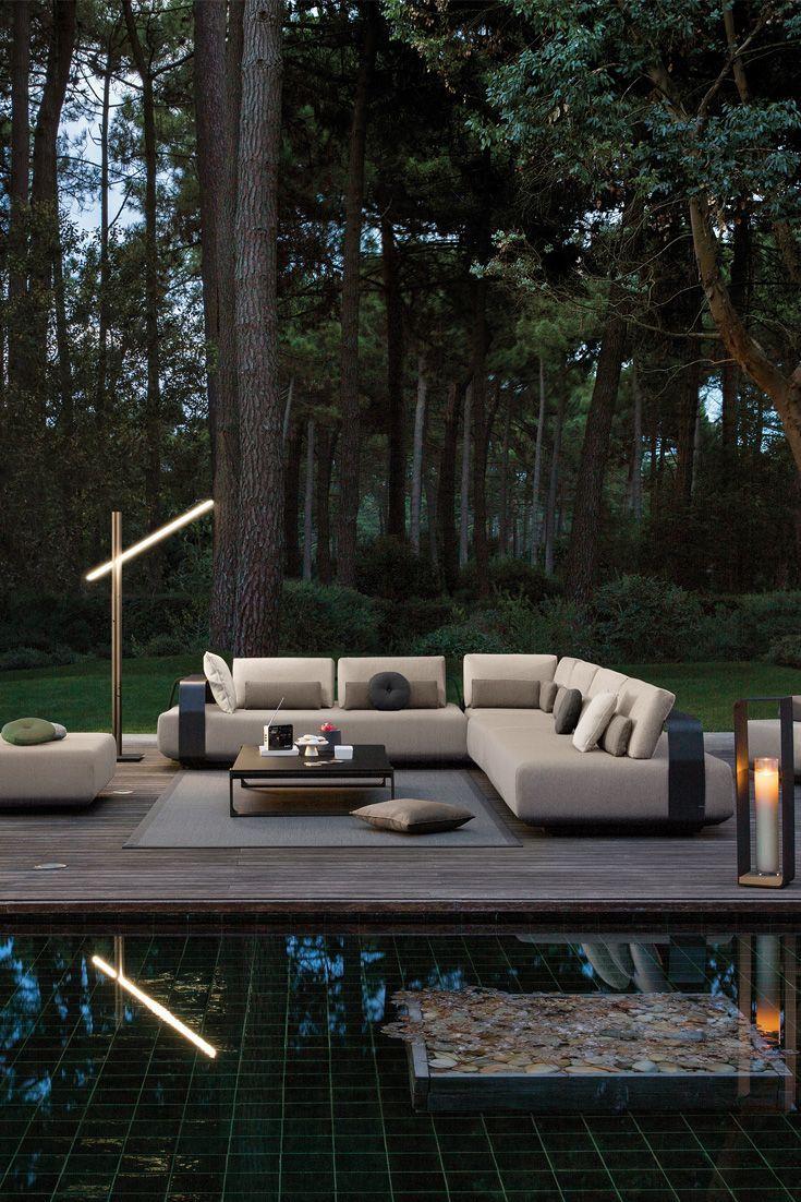Contemporary Outdoor Designer Luxury Modular L Shaped Sofa In 2020
