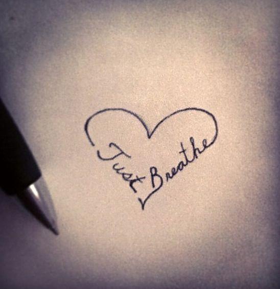 Best 25+ Breathe Tattoos Ideas On Pinterest