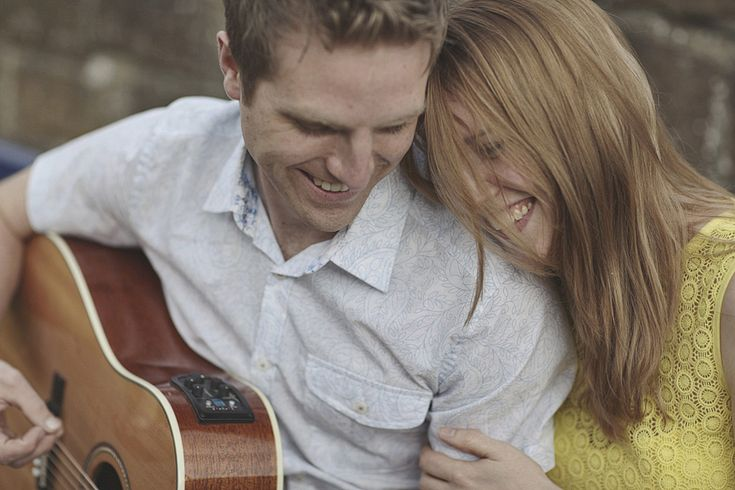 Engagements Shoots / Pre-Wedding Photography making sweet music. York Place Studios.