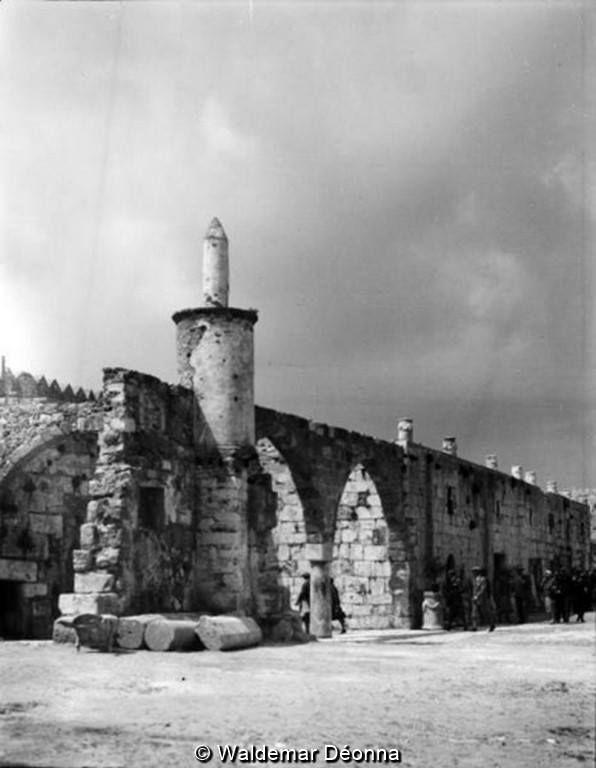 Κώς, έσωτερική θέα του κάστρου, 1928.