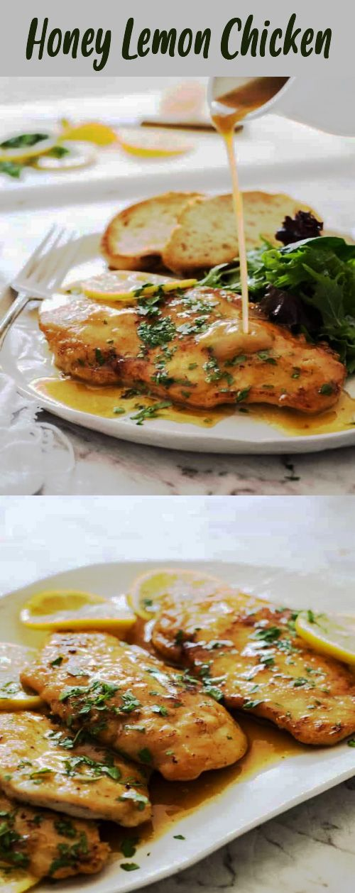 Easy Honey Lemon Chicken Recipe