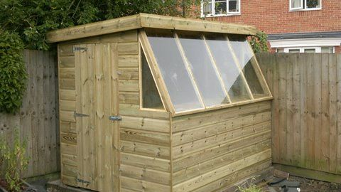 For the true gardening enthusiast our range of #Pottingsheds offers something for everyone, in contrasting styles and finishes. Call Kevin on 01405 765400 now!