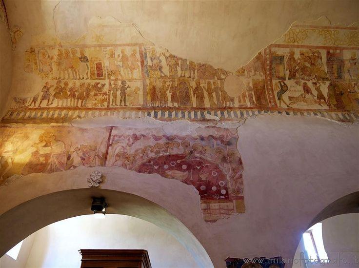 Casarano (Lecce, Italy) - Byzantine frescos with the history of Santa Caterina da Alessandria