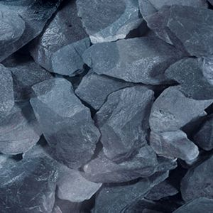 Picture of Real Gravel Company: Blue Slate Chippings 20kg