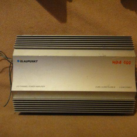 Amplificator statie auto blaupunkt mpa400w