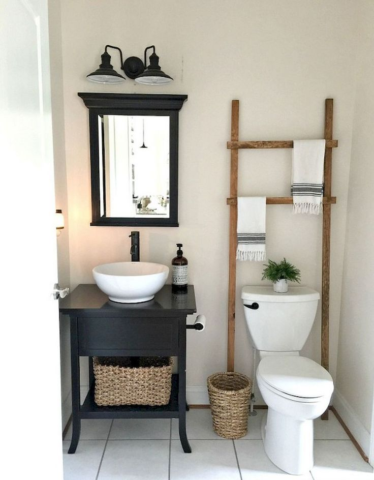 80 Elegant Farmhouse Bathroom Remodel Ideas