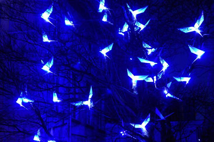 IlPost - Gand, città del Belgio e capoluogo delle Fiandre orientali, ha organizzato per il secondo anno consecutivo il Licht Festival, il festival della luce: quattro giorni (dal 26 al 29 gennaio) di installazioni, performance e spettacoli luminosi in tutto il centro storico della città. Il tema di questa seconda edizione era la felicità, ispirato dall'opera teatrale L'uccellino azzurro del commediografo belga Maurice Maeterlinck.