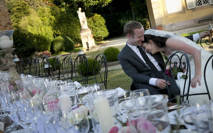 Real Life Wedding Photos Lucca Wedding Meaghan & David
