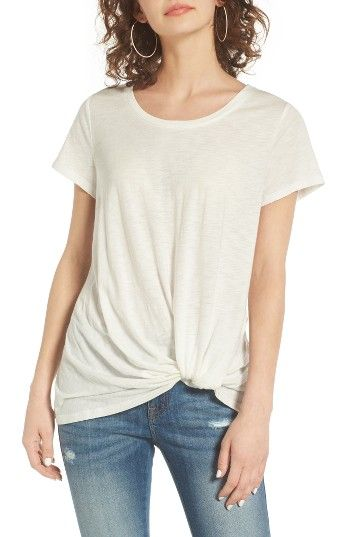 Free shipping and returns on BP. Twist Front Tee at Nordstrom.com. A casual tee in lightweight cotton-blend jersey gets a playful twist—literally—from a torqued hemline that lends a distinctively cool look.