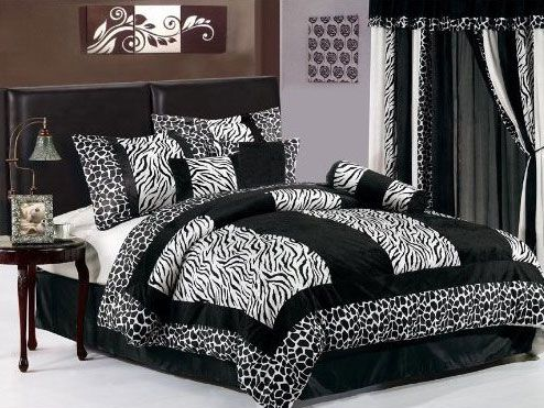 Zebra Bedroom Decor