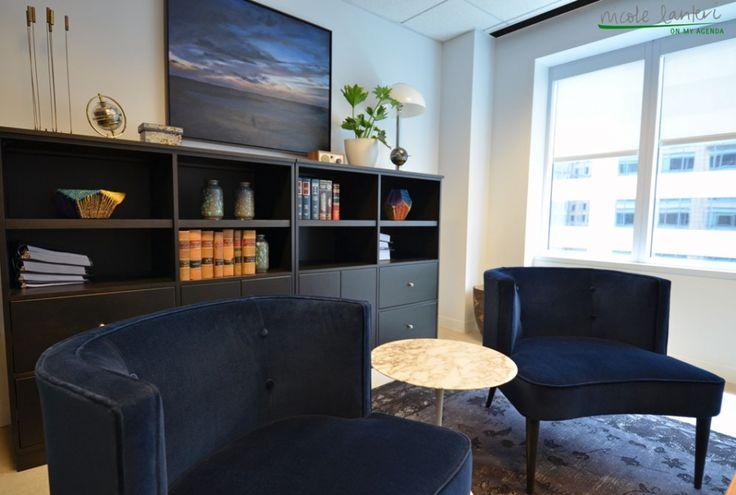 Chloe chairs nicole lanteri interior design law office for Interior design law office