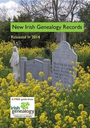 Your free booklet outlining all the Irish family history records released during 2014.