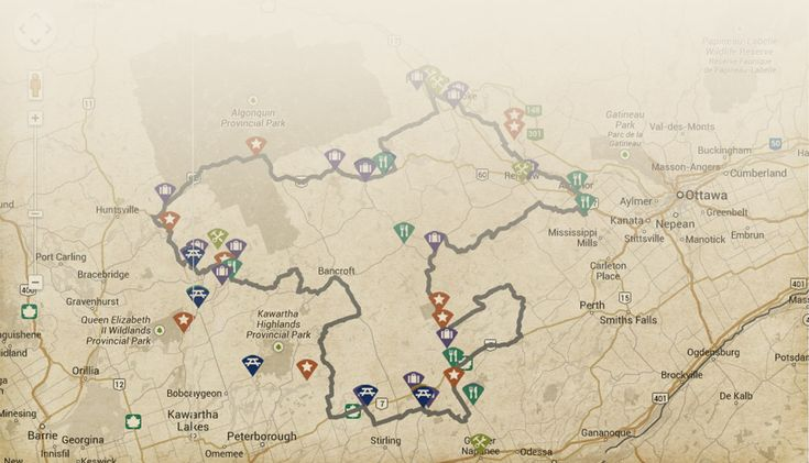 Pick a route and ride the Highlands