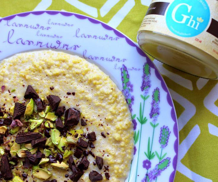 Jáhlová kaše s pistáciemi a čokoládou | Cooking with Šůša