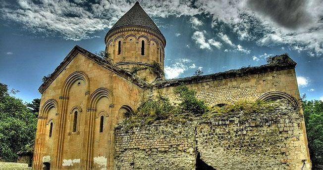 İşhan Monastery in Yusufeli - Artvin, Turkey